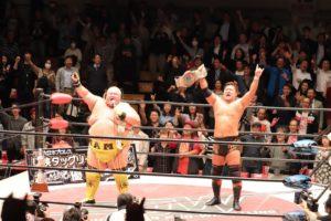 BJW: Hama y Nakanoue ganan el Saikyou Tag League y un título 18