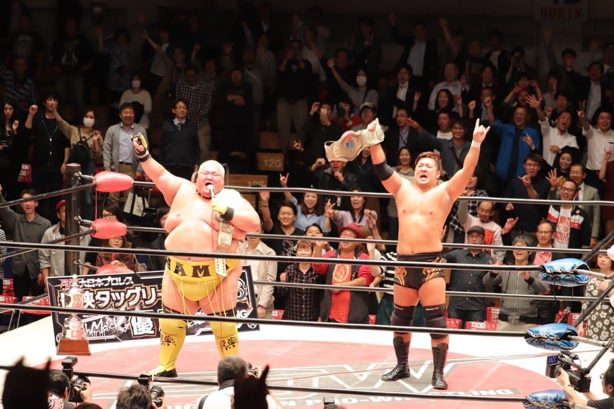 BJW: Hama y Nakanoue ganan el Saikyou Tag League y un título 1
