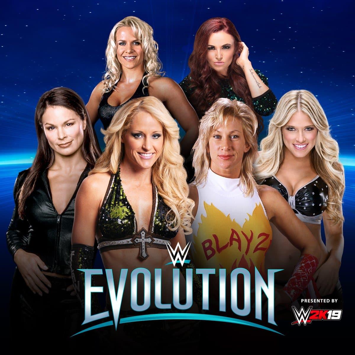 ¡WWE confirma lucha para seis ex luchadoras en Evolution! 1