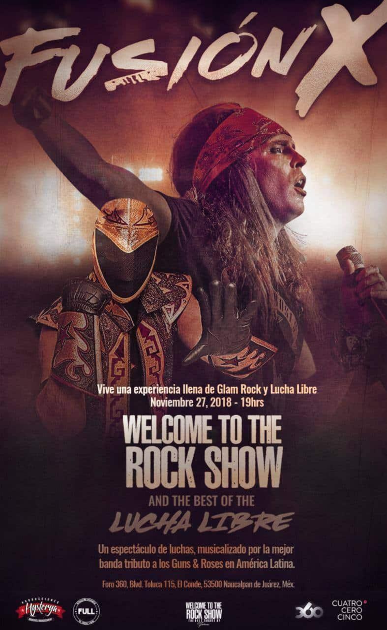 Fusión X: Antro, rock y lucha libre ─ Tinieblas & Roses 2