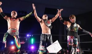 "Dragon Gate: ""The Gate of Evolution 2018"" Se jugó el título de tercias 12"