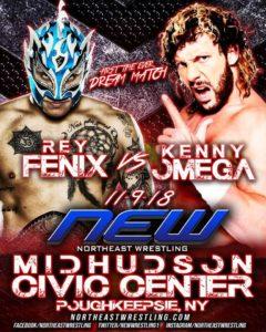 Resultados NEW: Kenny Omega vs. Fénix 11