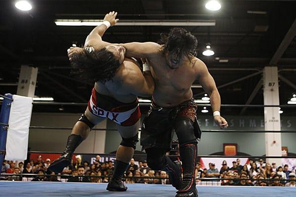 """NJPW:""""Lion's Break: Project 1"""" Probando a los nuevos talentos 6"""