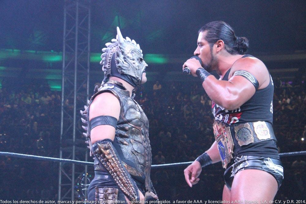 AAA: Gira de Conquista en Orizaba, Drago en pos de Hijo del Fantasma 1