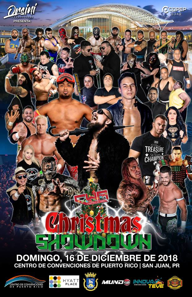 CWA Christmas Showdown   Superfights