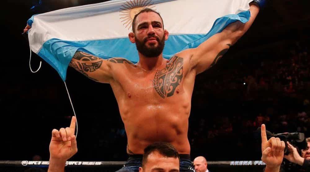 """Santiago Ponzinibbio: """"Darren Till tenía miedo de pelear conmigo"""" 4"""