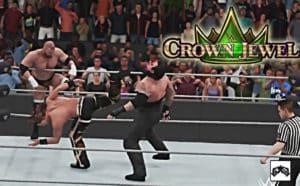 Súper Simulaciones: ¡Así sería WWE Crown Jewel! 17