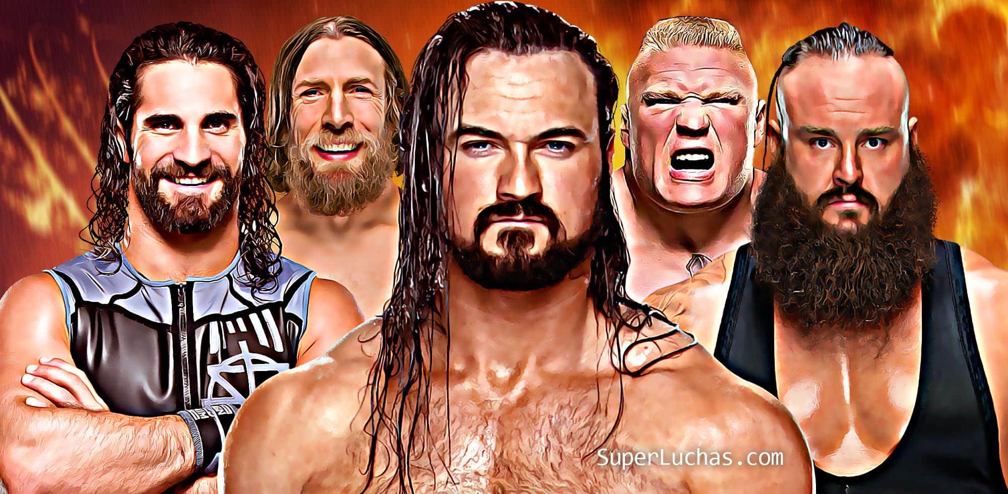 Las fechas en que expiran los contratos de las Superestrellas WWE 1
