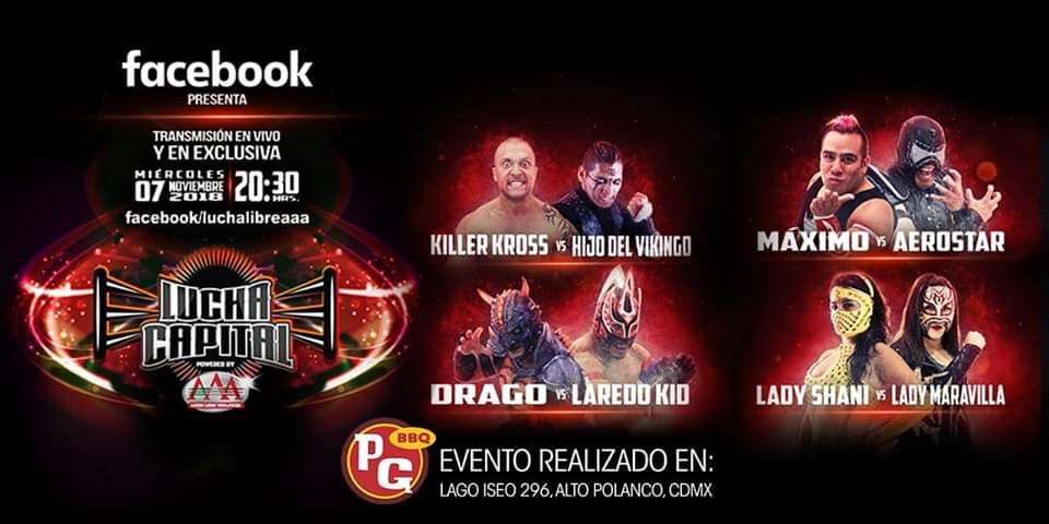 "AAA: Cartel para ""Lucha Capital - Episodio 2"" 1"