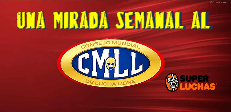 CMLL: Una mirada semanal al CMLL (Del 1 al 7 de noviembre de 2018) 1