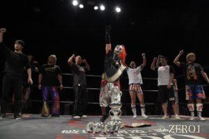 "Zero1: ""Tenka-Ichi Jr. Tournament"" SUGI es el vencedor; Sekimoto se corona 4"