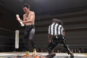 "DDT: ""D-King Grand Prix 2019"" Día 7 Shiozaki retoma la cima 6"