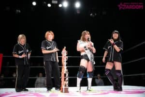 "Stardom: ""Best of the Goddesses 2018"" Momo Watanabe logra ocho defensas 32"