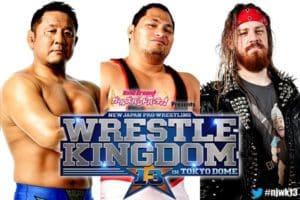 NJPW: Michael Elgin fuera de WK13, entra Yuji Nagata 3