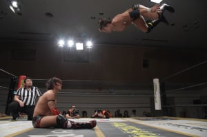 "DDT: ""D-King Grand Prix 2019"" Día 7 Shiozaki retoma la cima 5"