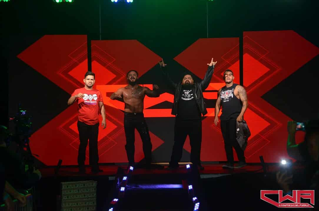 Cwa Christmas Showdown 2020 VIDEO: Arrival of WEST SIDE MAFIA at CWA's Christmas Showdown A