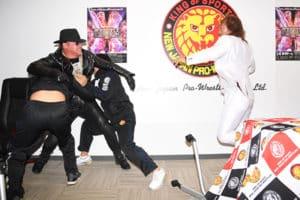 NJPW: Chris Jericho y Tetsuya Naito chocan en conferencia de prensa. 12