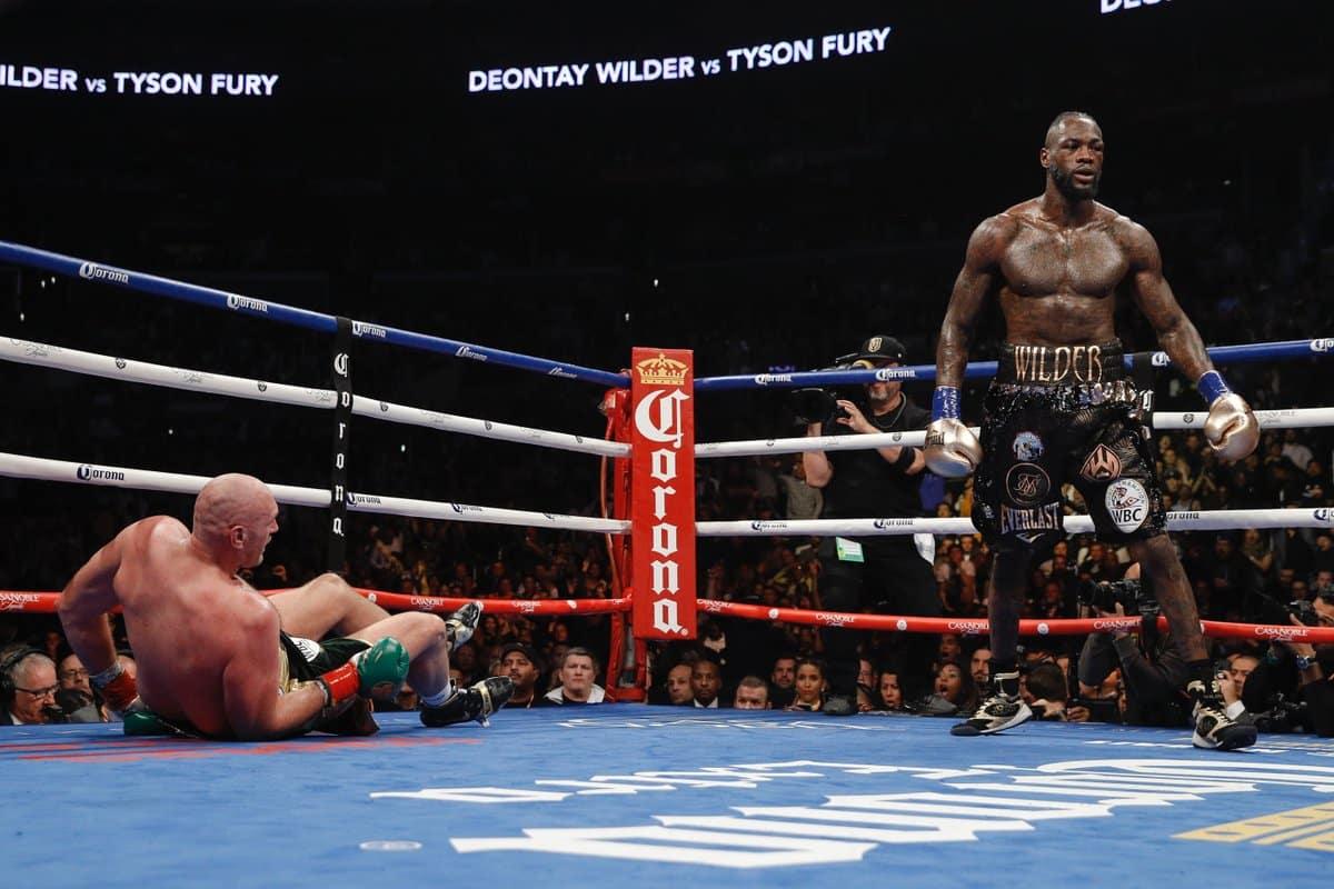 Deontay Wilder retuvo su corona al empatar con Tyson Fury 3