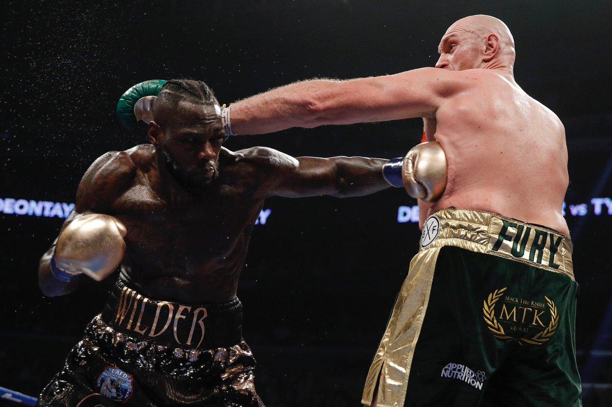 Deontay Wilder retuvo su corona al empatar con Tyson Fury 2