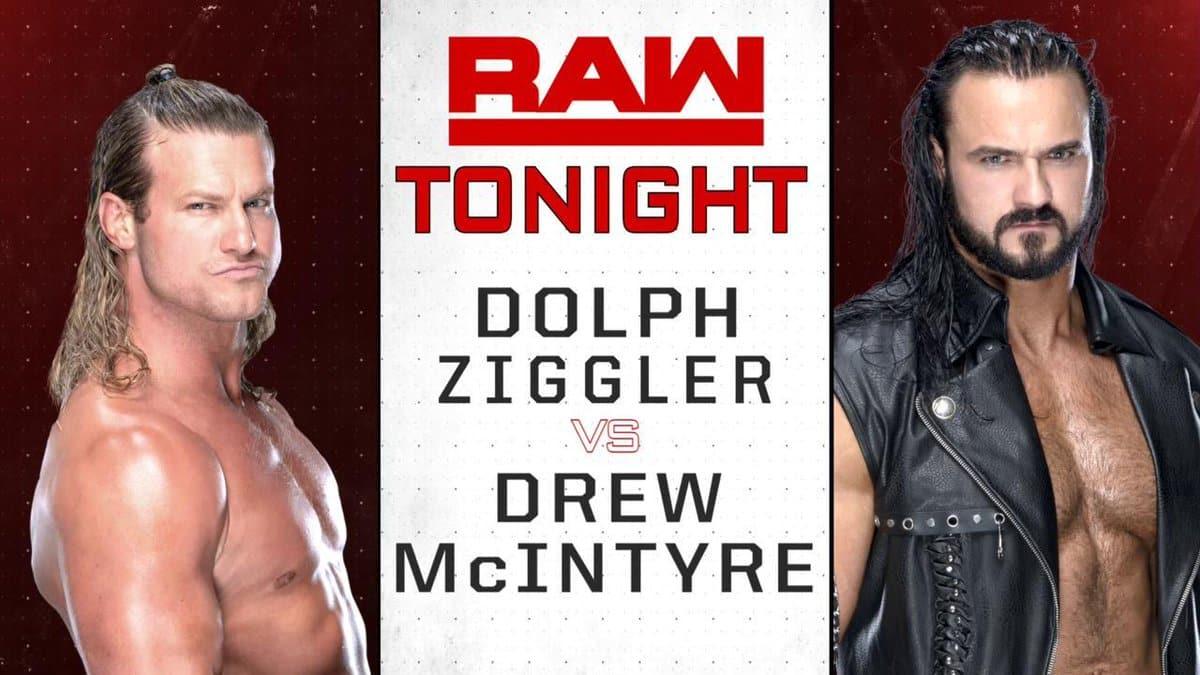 Dolph Ziggler vs Drew McIntyre