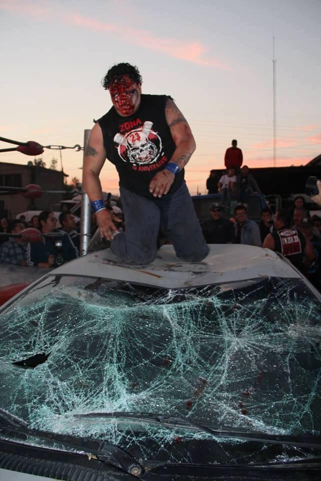 """El epicentro de la lucha extrema: """"Manicomio Zona 23"""