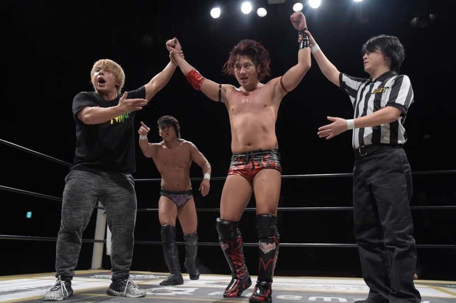 """DDT: """"D-King Grand Prix 2019"""" Día 4 Soma Takao campeón 1"""