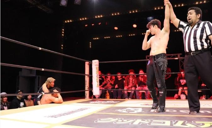 "DDT: ""D-King Grand Prix 2019"" Día 5 Shinya Aoki es doble monarca 6"