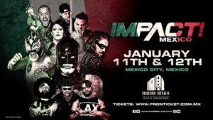 Impact Wrestling regresará a México en enero de 2019 9