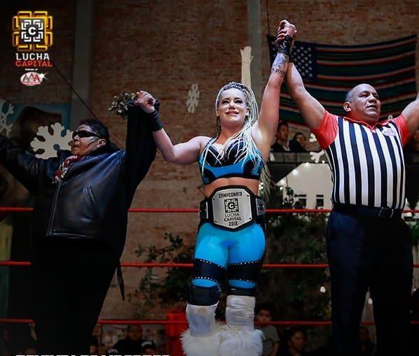 AAA: Taya es la primera Campeona de Lucha Capital 3