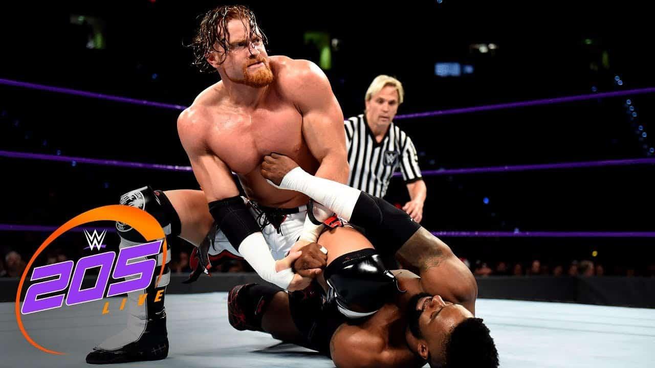 Buddy Murphy está sorprendiendo a todos tras bastidores en WWE 1