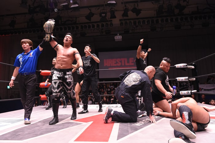 "W-1: ""Wrestle-1 Tour 2019 Sunrise"" T-Hawk destrona a Ashino 1"