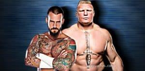 CM Punk Brock Lesnar