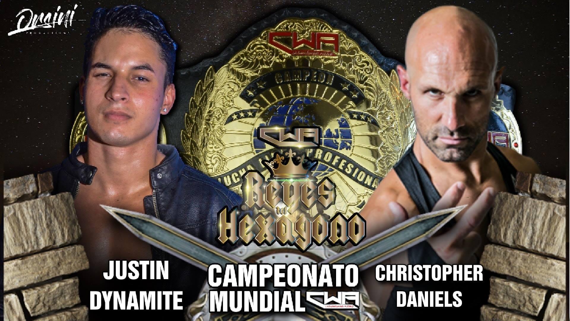 VIDEO: HIGHLIGHTS Justin Dynamite vs Christopher Daniels por el Campeonato Mundial de la CWA 1
