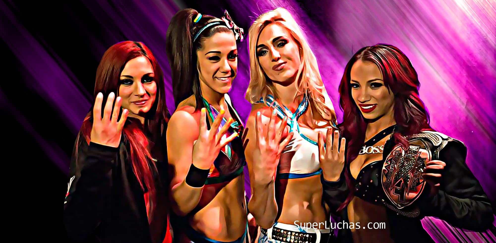 Four Horsewomen WWE