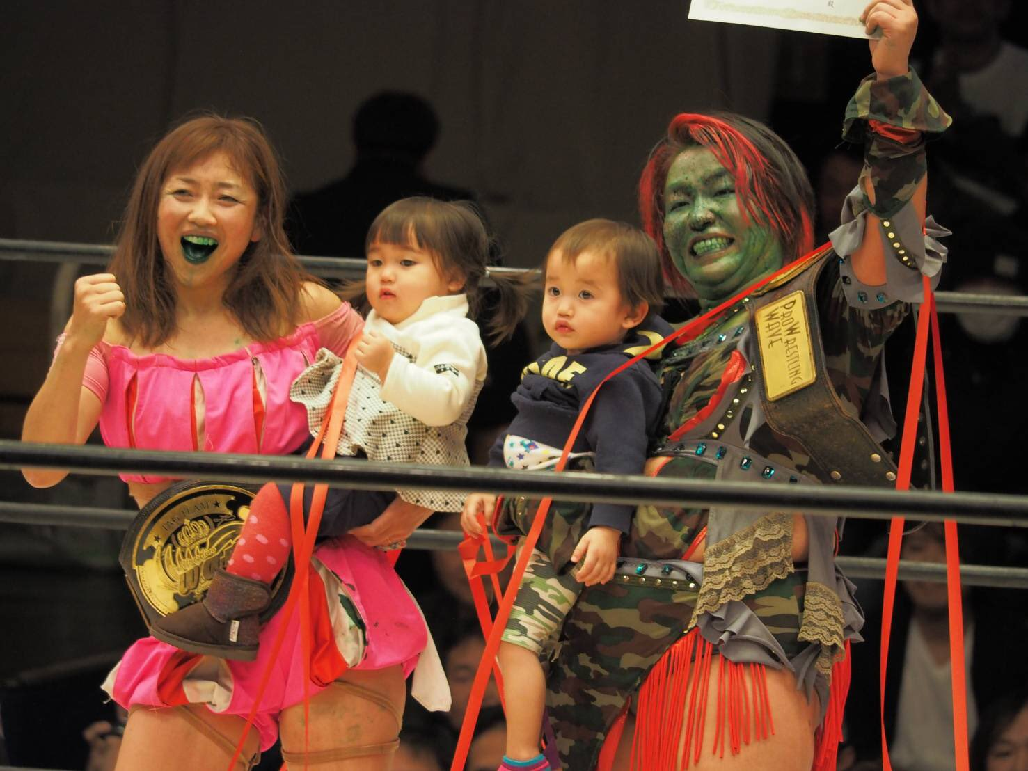 "WAVE: ""Phase 1 Final ~Kick Out"" El adiós de Misaki Ohata 6"