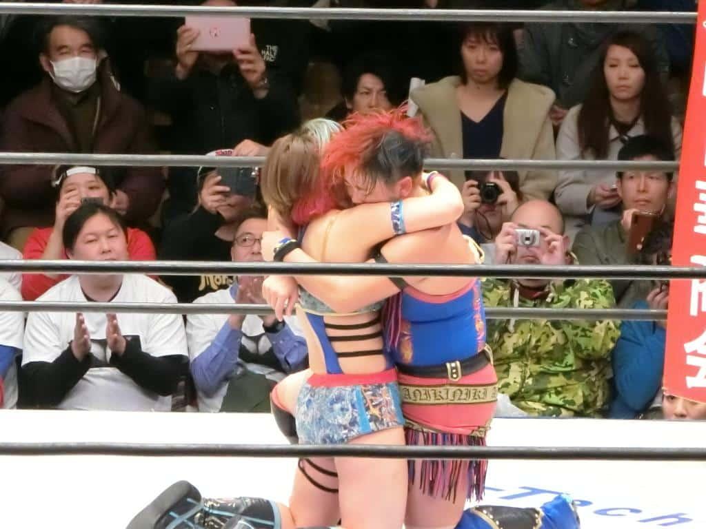 "WAVE: ""Phase 1 Final ~Kick Out"" El adiós de Misaki Ohata 8"