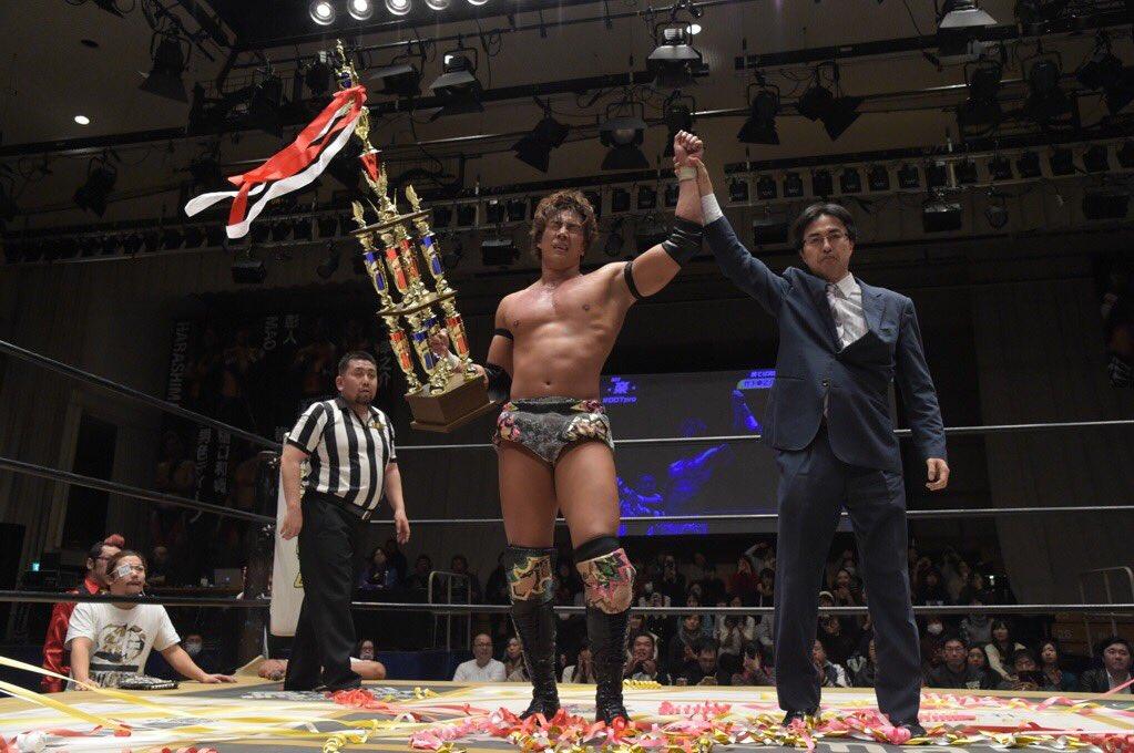 "DDT: ""D-King Grand Prix 2019"" Konosuke Takeshita es el ganador 1"