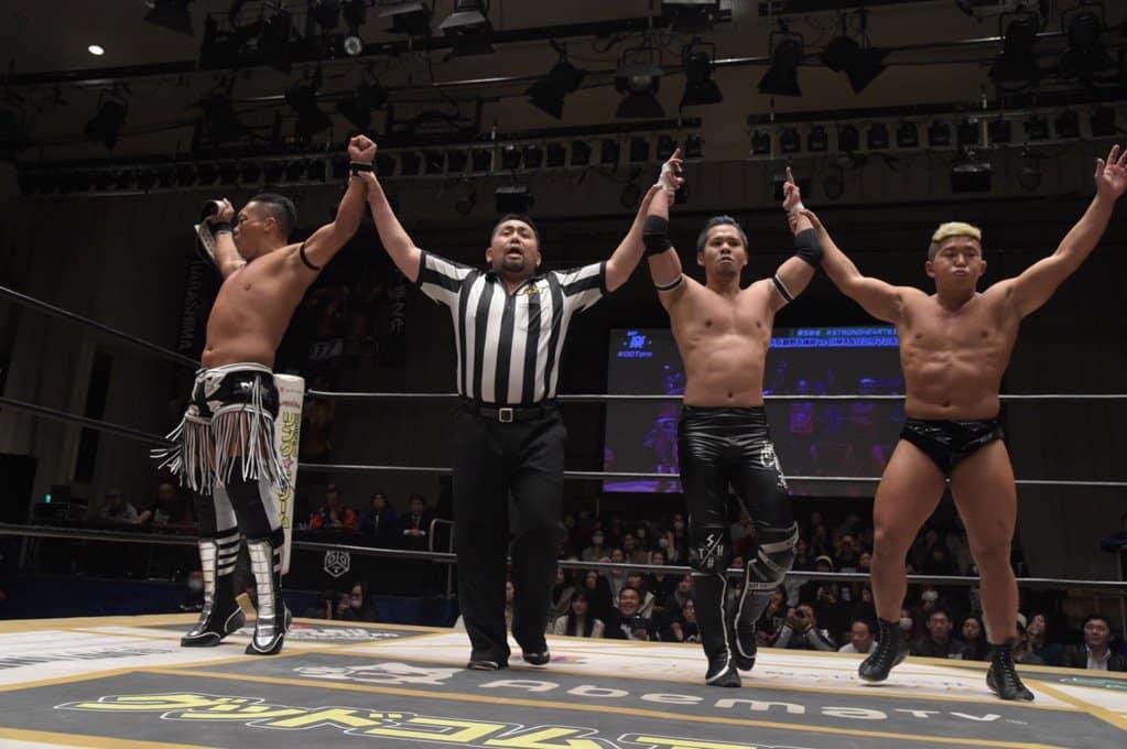 "DDT: ""D-King Grand Prix 2019"" Konosuke Takeshita es el ganador 3"