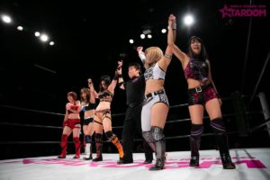 "Stardom: ""New Year Stars 2019"" Queen's Quest impone su ley 10"