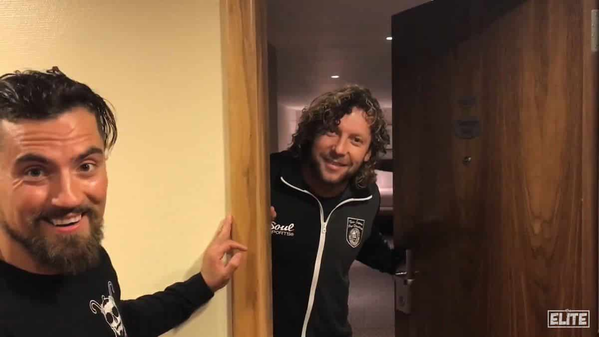 Marty Scurll y Kenny Omega
