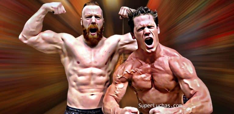 Sheamus y John Cena