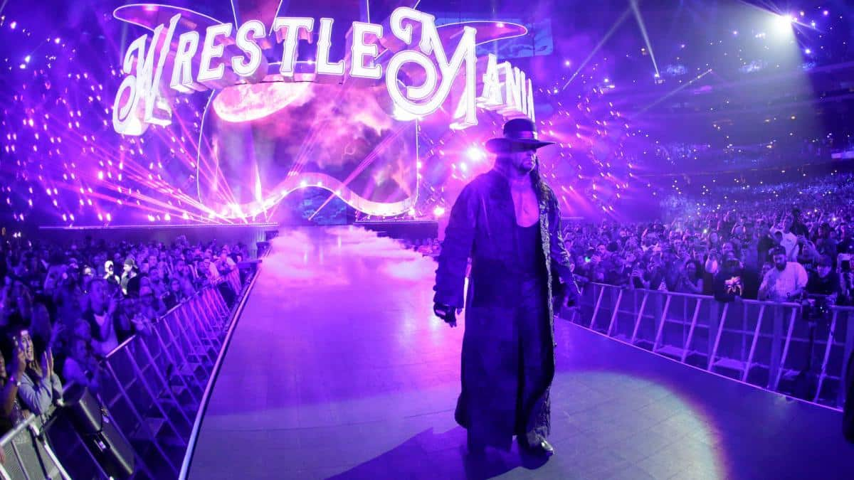 The Undertaker en WrestleMania 34 (08/04/2018) - WWE