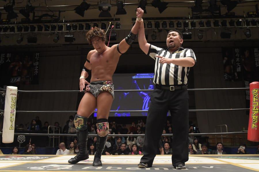 "DDT: ""D-King Grand Prix 2019"" Konosuke Takeshita es el ganador 6"