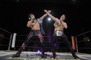 "DDT: ""Shimo Kitazawa Fighting Theater 2019"" MAO y Mike Bailey, dobles monarcas 42"