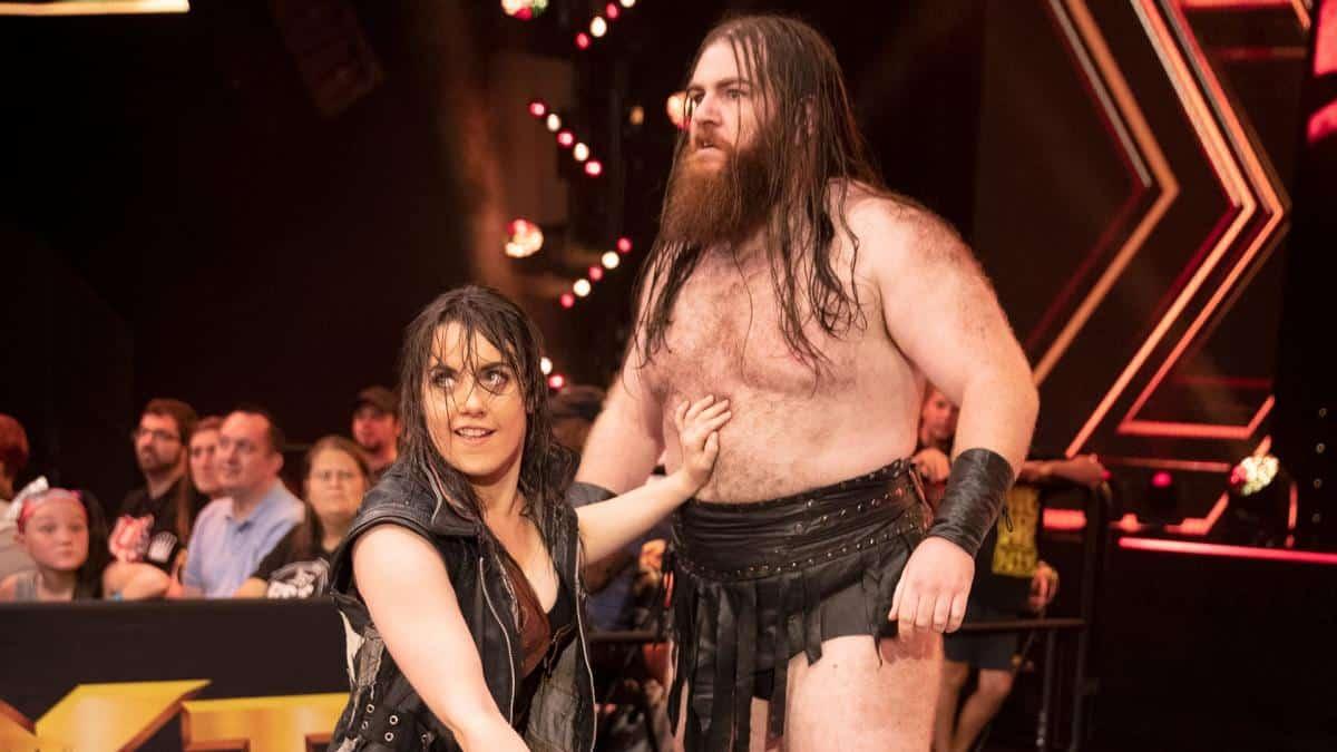 Nikki Cross y Killian Dain también se han casado (con fotos)