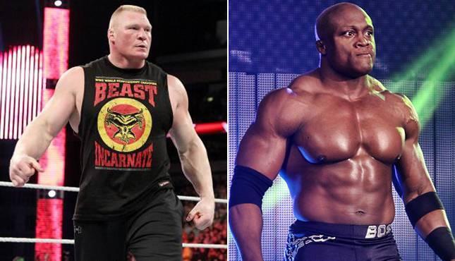 Bobby Lashley vs Brock Lesnar
