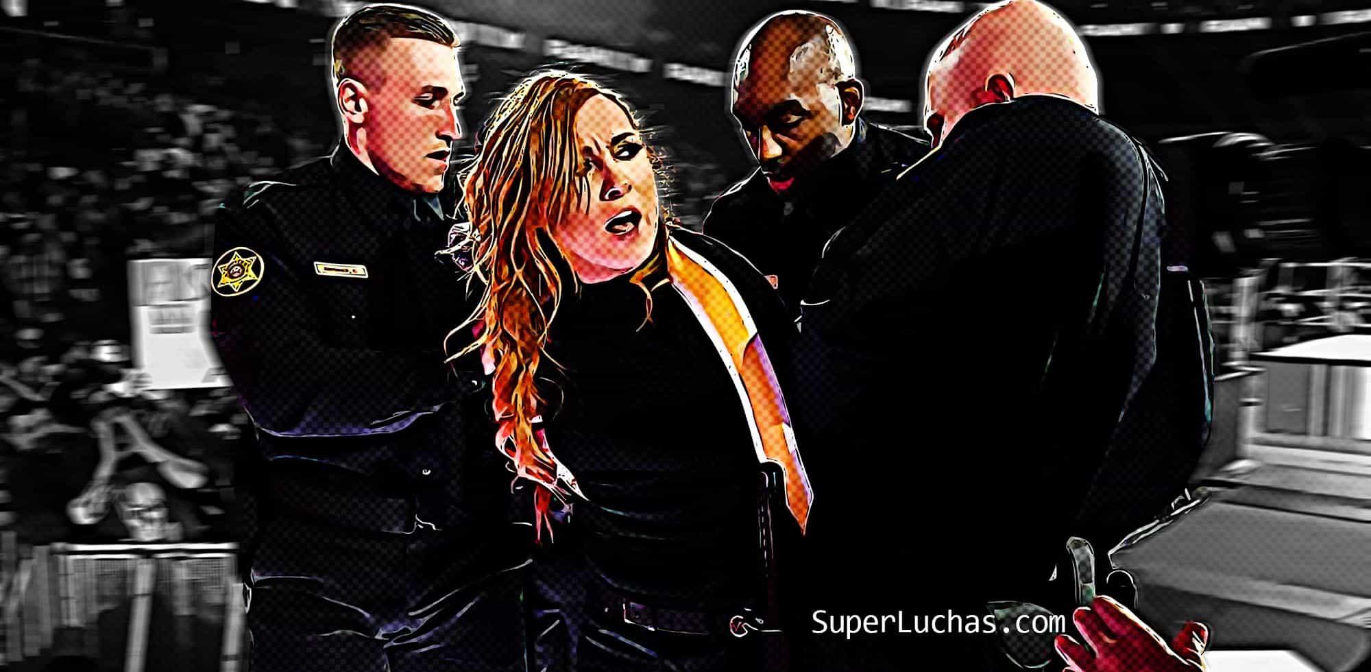Becky Lynch arrestada