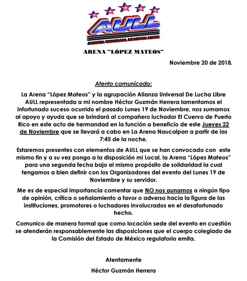 Los siete pecados de la lucha libre mexicana VII — Falta de autoridad 2