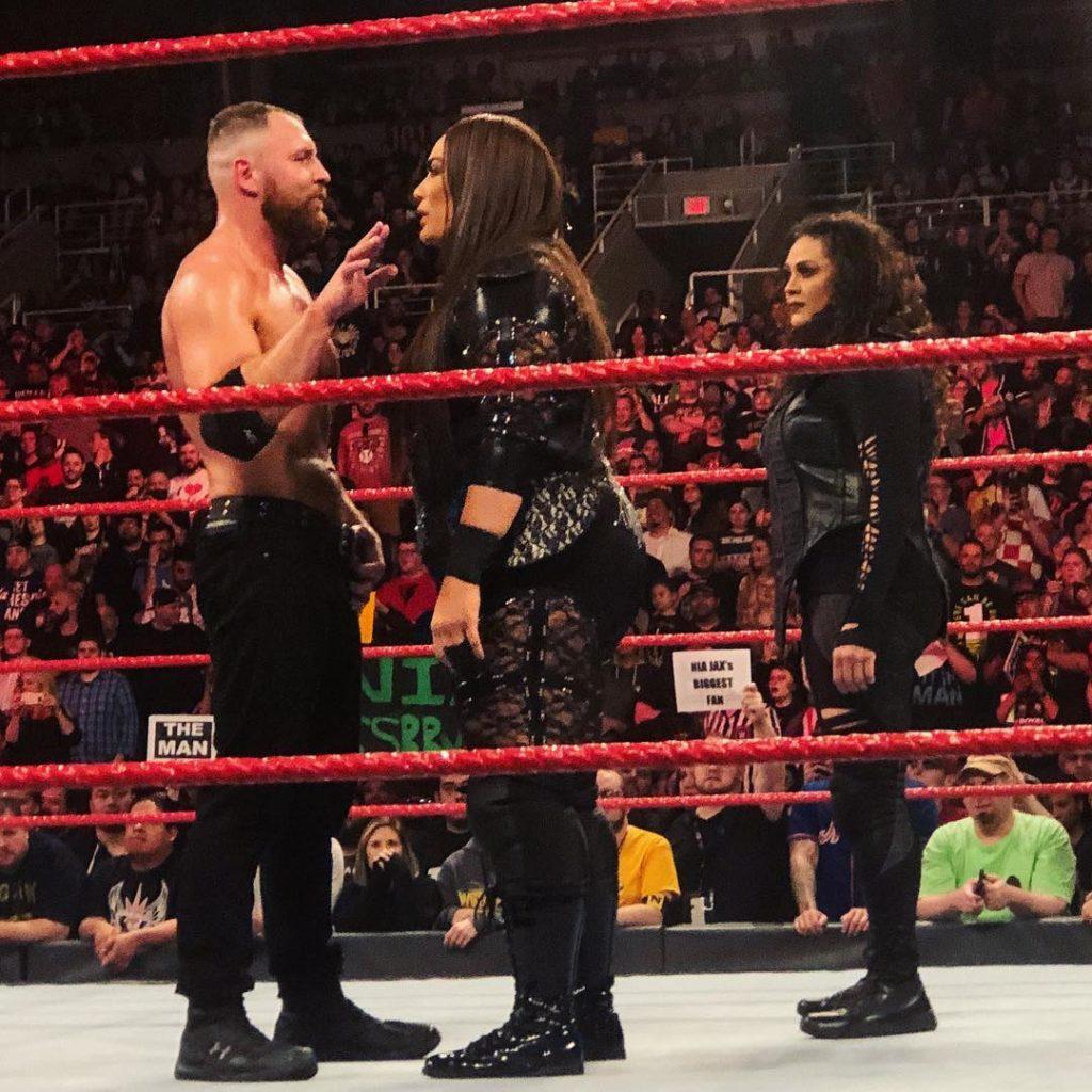WWE cancela el anunciado Dean Ambrose vs. Nia Jax 1
