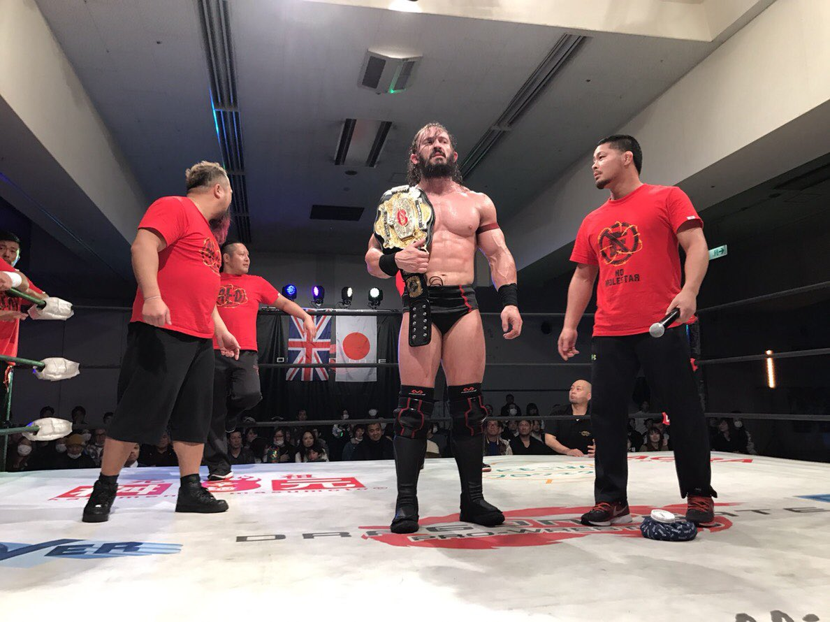 "Dragon Gate: ""Truth Gate 2019"" PAC defiende su cinturón 1"